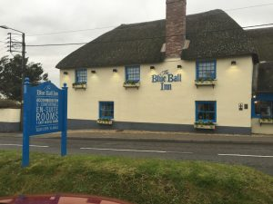 Lunch at the Blue Ball Inn, Sidford @ Blue Ball Inn